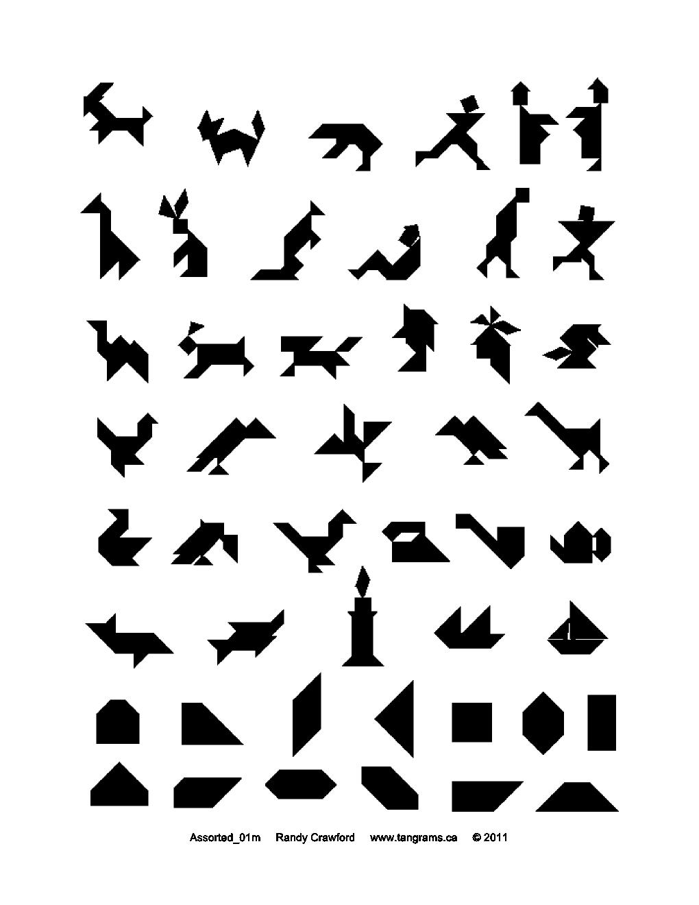tangram swan logo
